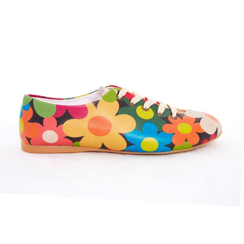 Colored Daisies Ballerinas Shoes SLV064