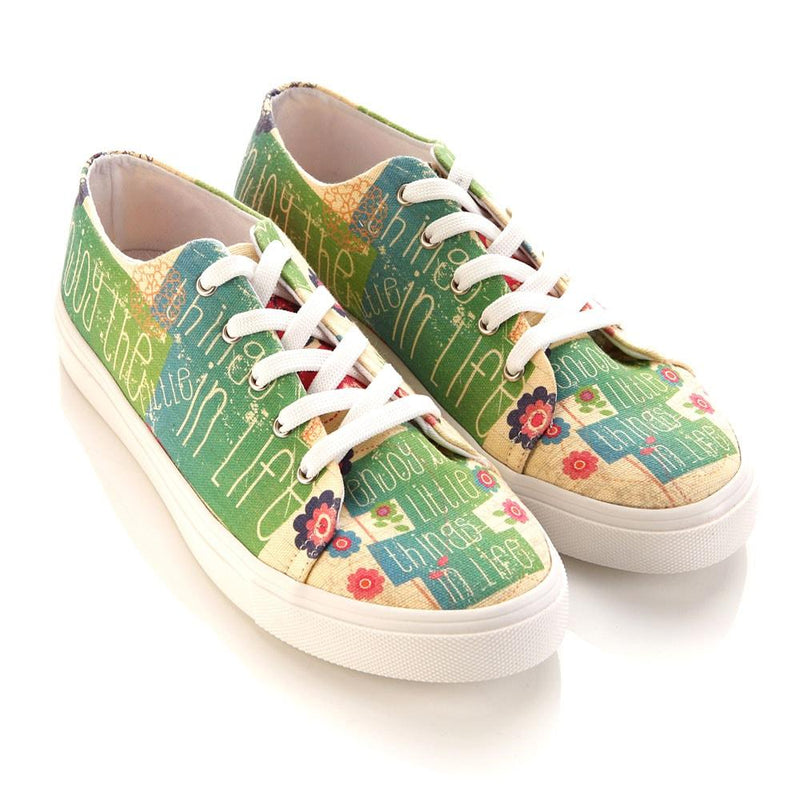 Flowers Slip on Sneakers Shoes SPR5406