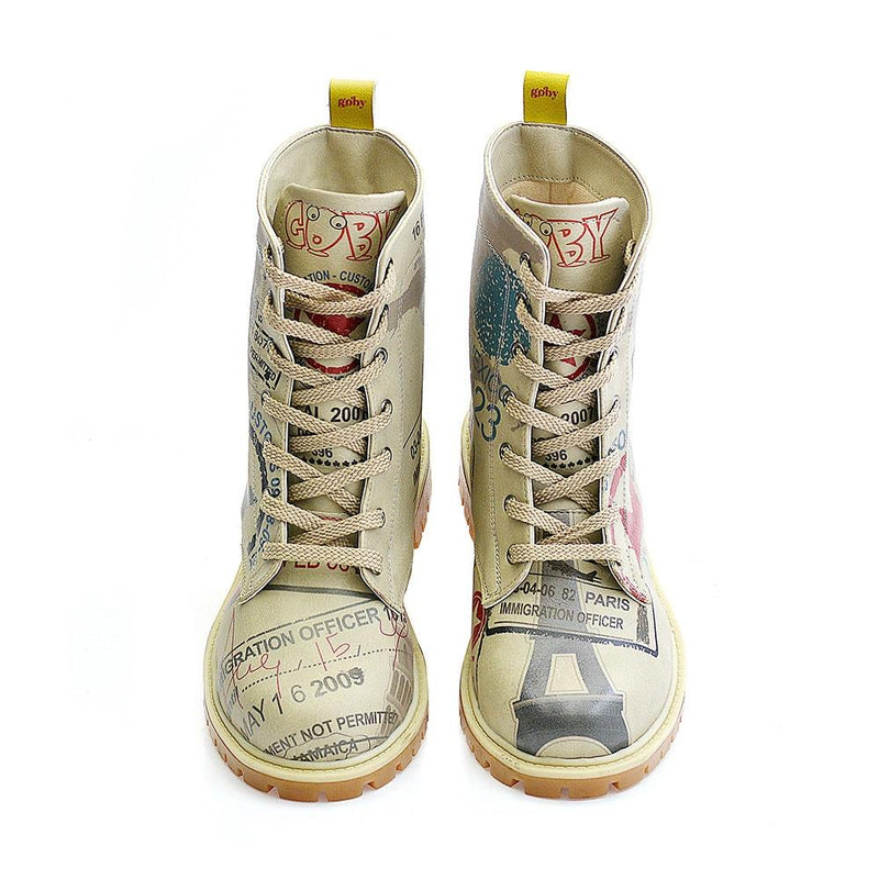 Army Airplane Long Boots TMB1011 (1405814866016)