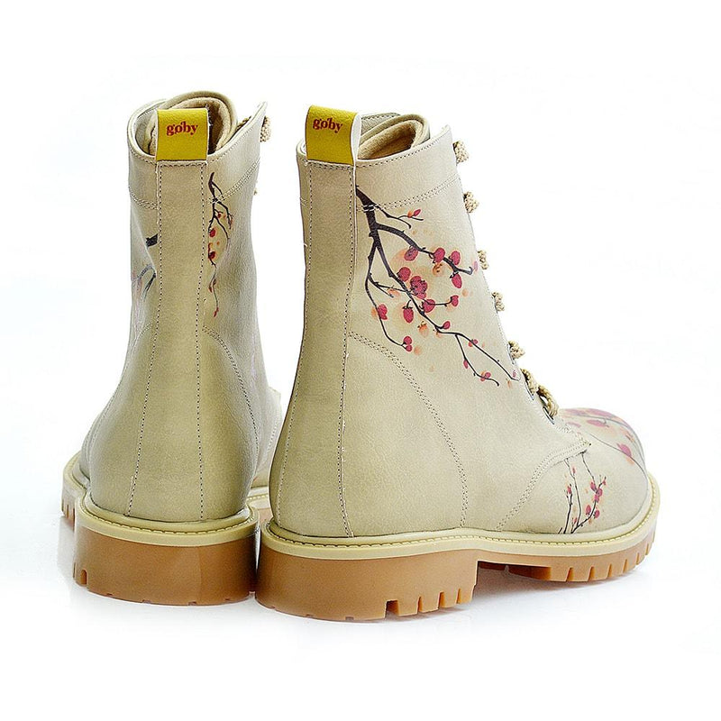 Cherry Blossom Long Boots TMB1012 (506277953568)