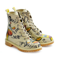 Confused Giraffe Long Boots TMB1029 (1405815455840)