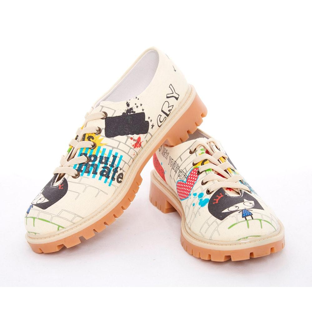 Pretty Blossom Oxford Shoes TMK5502