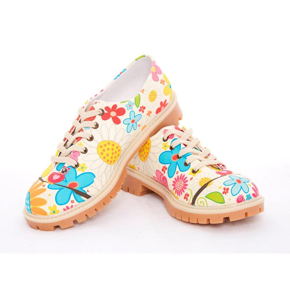 Flowers Oxford Shoes TMK5505