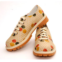 Colored Dots Oxford Shoes TMK6503