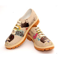 Pretty Blossom Oxford Shoes TMK6504