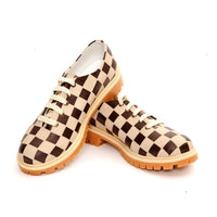 Squares Oxford Shoes TMK6506