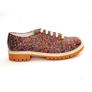 Pattern Oxford Shoes TMK6511