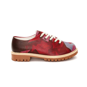 Colored Prismas Oxford Shoes TMK6512