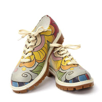 Flowers Oxford Shoes TMK6513