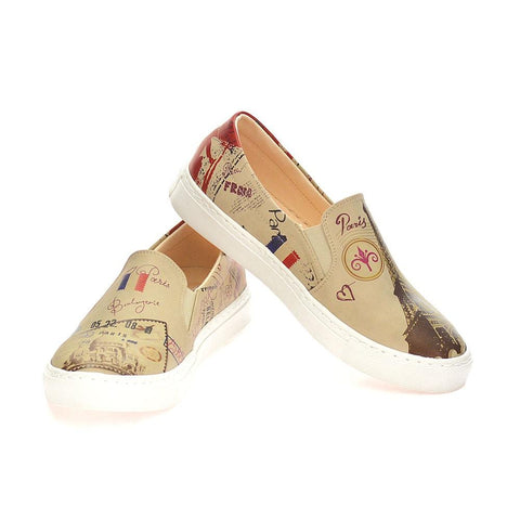 GOBY Paris Slip on Sneakers Shoes VN4002