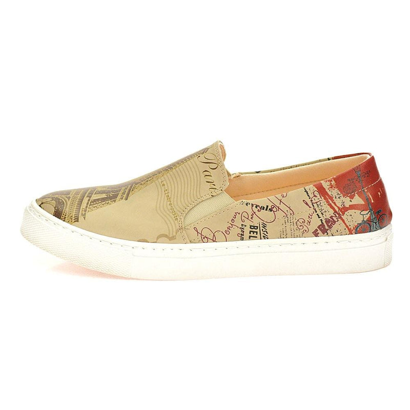 Paris Slip on Sneakers Shoes VN4002 (506278215712)