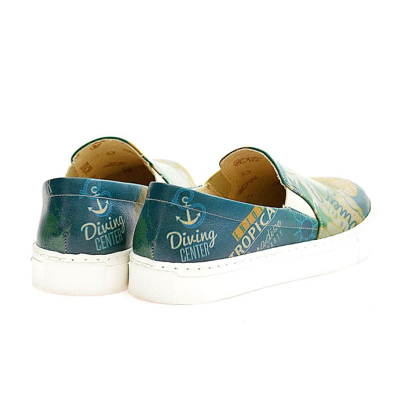 Diving Center Slip on Sneakers Shoes VN4004