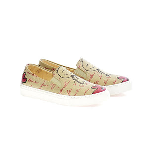 Married Couple Slip on Sneakers Shoes VN4007