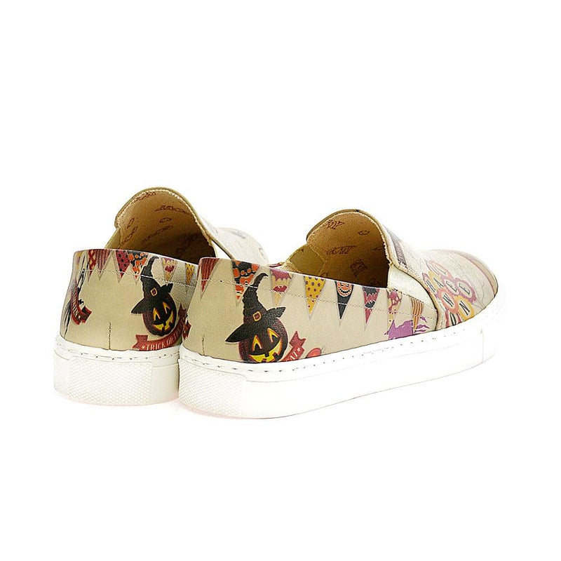 Halloween Slip on Sneakers Shoes VN4009