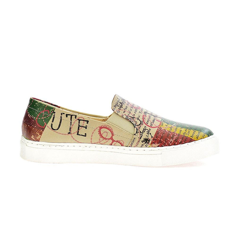So Cute Slip on Sneakers Shoes VN4010 (506278445088)