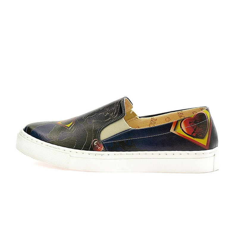 Superman Slip on Sneakers Shoes VN4014 (506278707232)