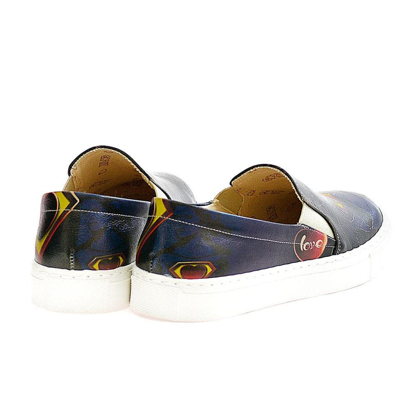 Superman Slip on Sneakers Shoes VN4014