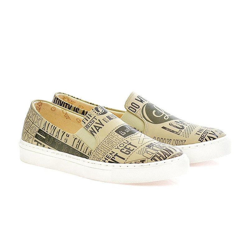 Love Slip on Sneakers Shoes VN4020 (506278871072)
