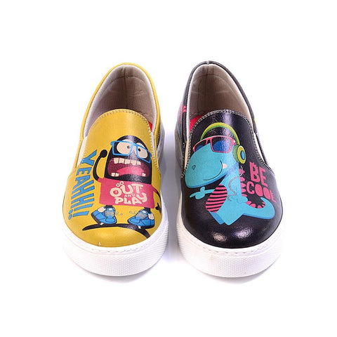 Be Cool Slip on Sneakers Shoes VN4022, Goby, GOBY Slip on Sneakers Shoes
