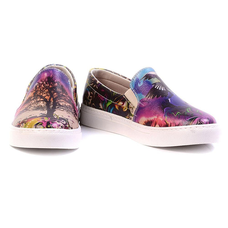 Art Slip on Sneakers Shoes VN4024 (506279067680)