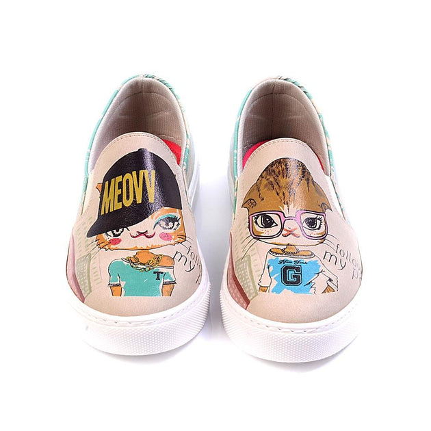 Follow My Paw Slip on Sneakers Shoes VN4027 - Goby GOBY Slip on Sneakers Shoes