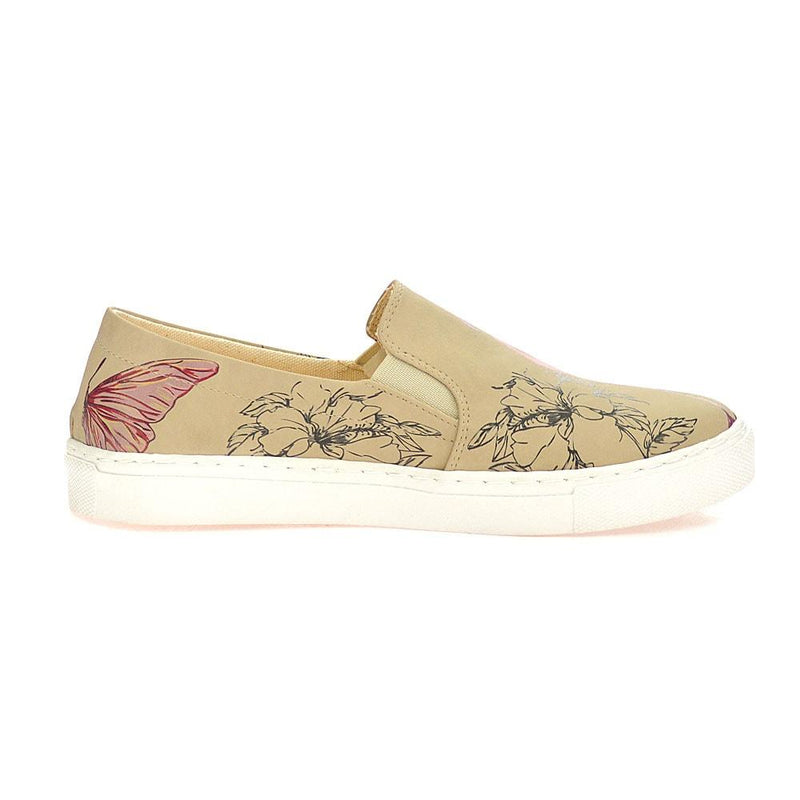 Flamingo Slip on Sneakers Shoes VN4030 (506279264288)