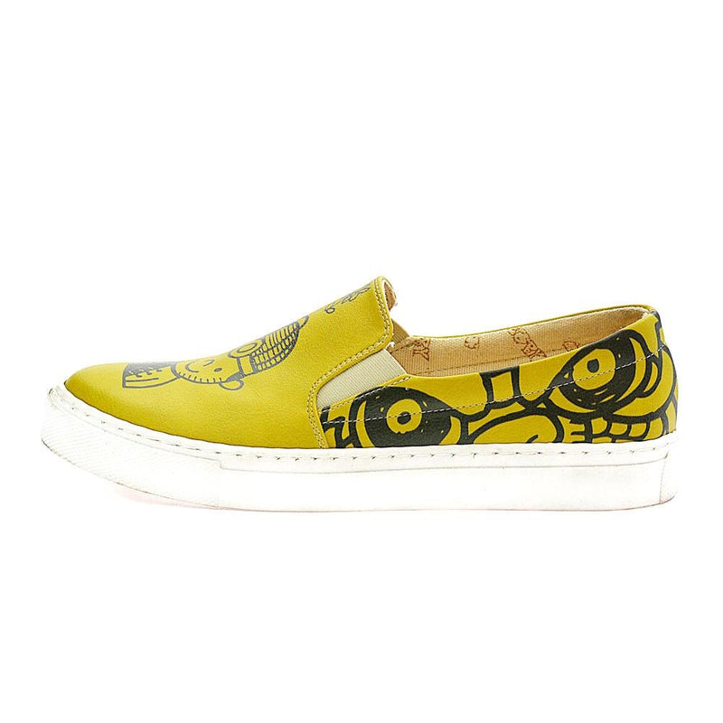 Cute Girl and Boy Slip on Sneakers Shoes VN4037 (506279362592)