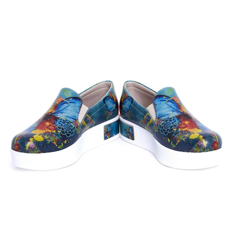 Butterfly Slip on Sneakers Shoes VN4201 (506279788576)