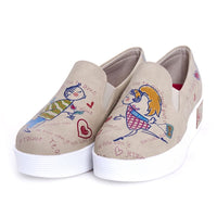 Je Taime Slip on Sneakers Shoes VN4203