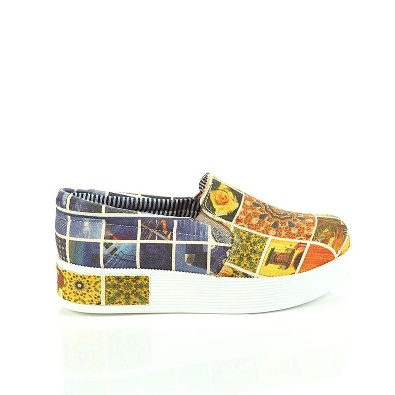 Art Slip on Sneakers Shoes VN4304 (506280771616)