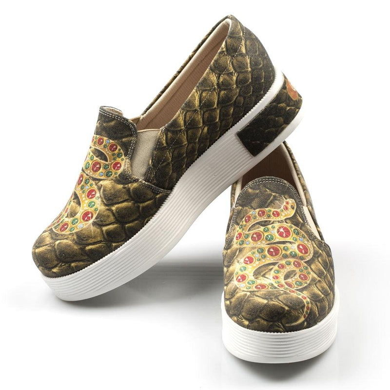 Snake Slip on Sneakers Shoes VN4309 (506281033760)