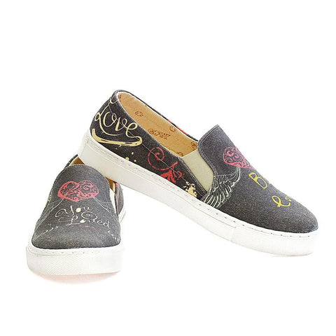 Be in Love Slip on Sneakers Shoes VN4401, Goby, GOBY Slip on Sneakers Shoes