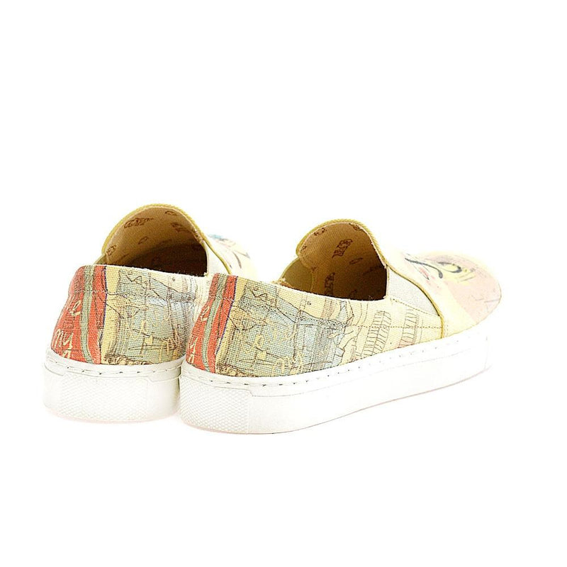 Fashion Girl Slip on Sneakers Shoes VN4407 (506281394208)
