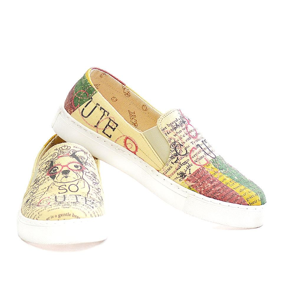 So Cute Slip on Sneakers Shoes VN4408