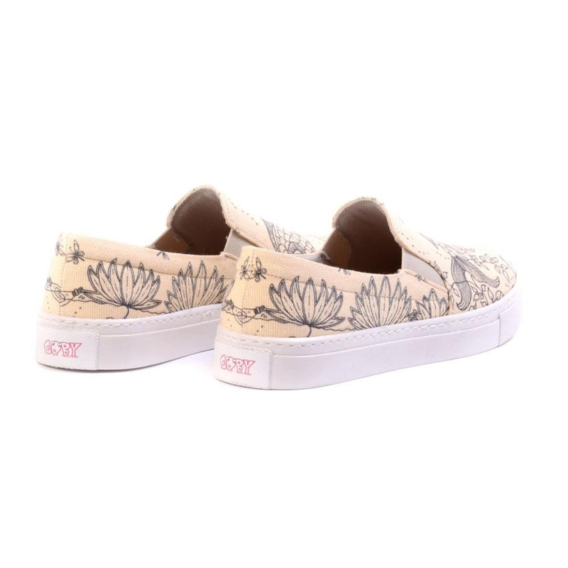 Painable Image Slip on Sneakers Shoes VN4502 (506282115104)
