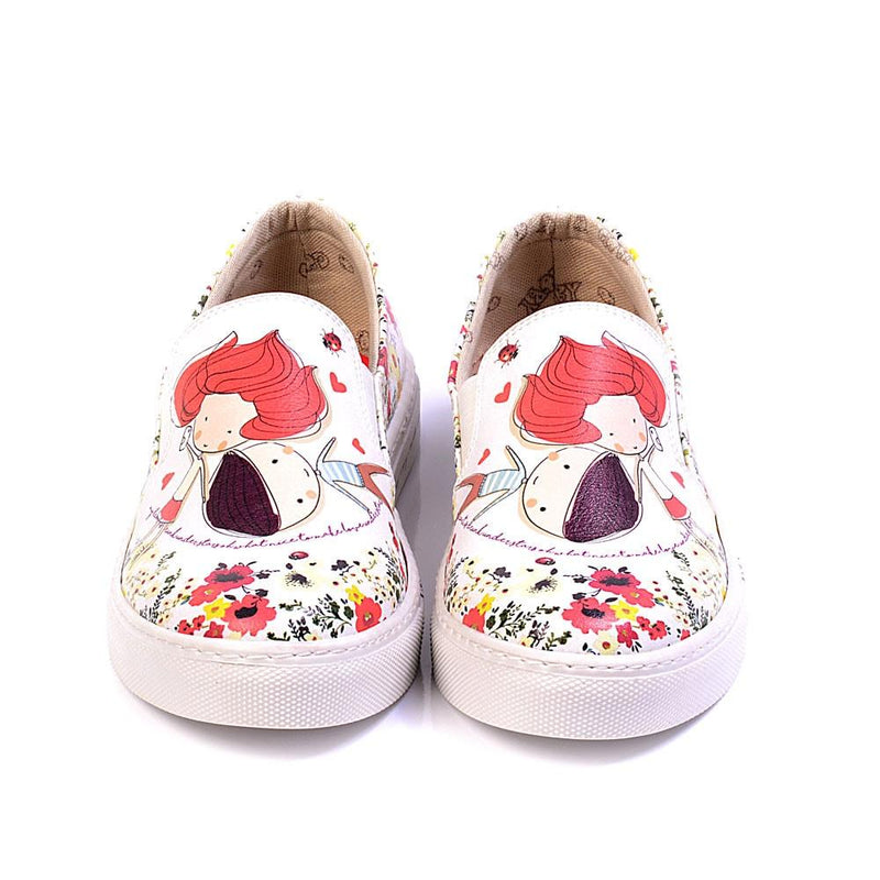 Cute Couple Slip on Sneakers Shoes VN4926 (506282672160)