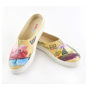 GOBY Slip on Sneakers Slipper VNT104