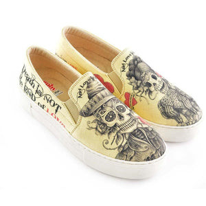 Love is Immortal Slip on Sneakers Shoes VNY101