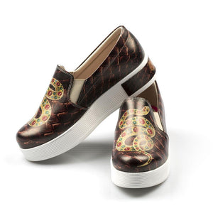 Snake Slip on Sneakers Shoes VN4213