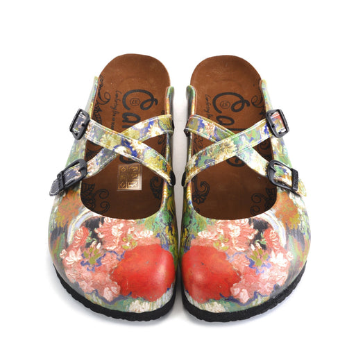 Rose Garden Clogs WCAL159
