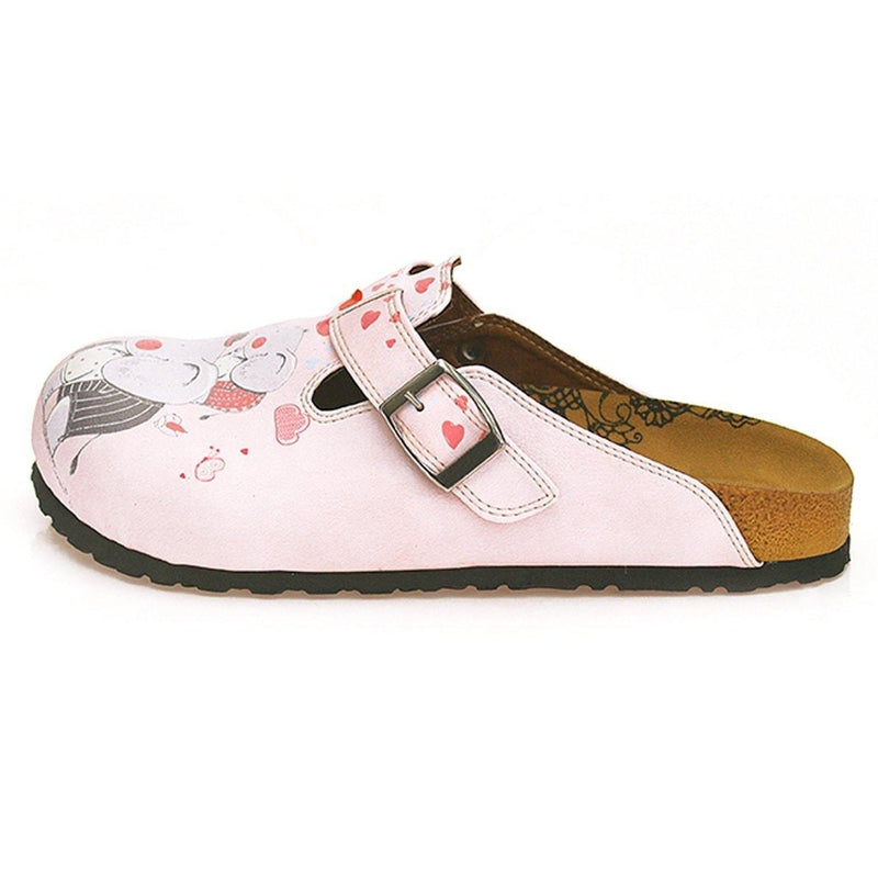 Pink Fun Elephant Clogs WCAL338 (737699528800)