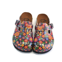 Flower Garden Clogs WCAL357 (737666662496)
