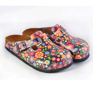 CALCEO Flower Garden Clogs WCAL357