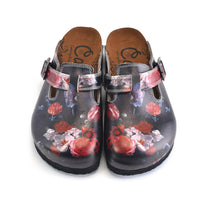 Flowers Clogs WCAL358 (737666629728)