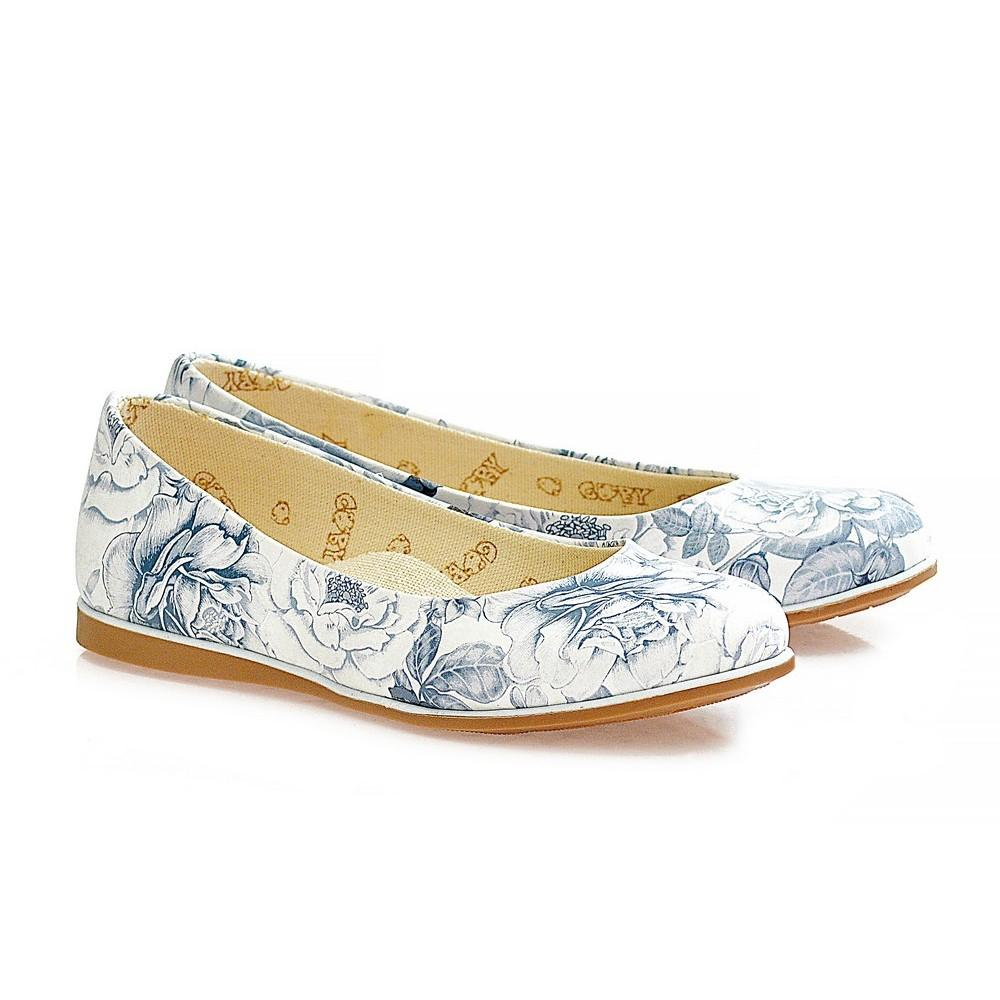 GOBY Flowers Ballerinas Shoes WCOC1108