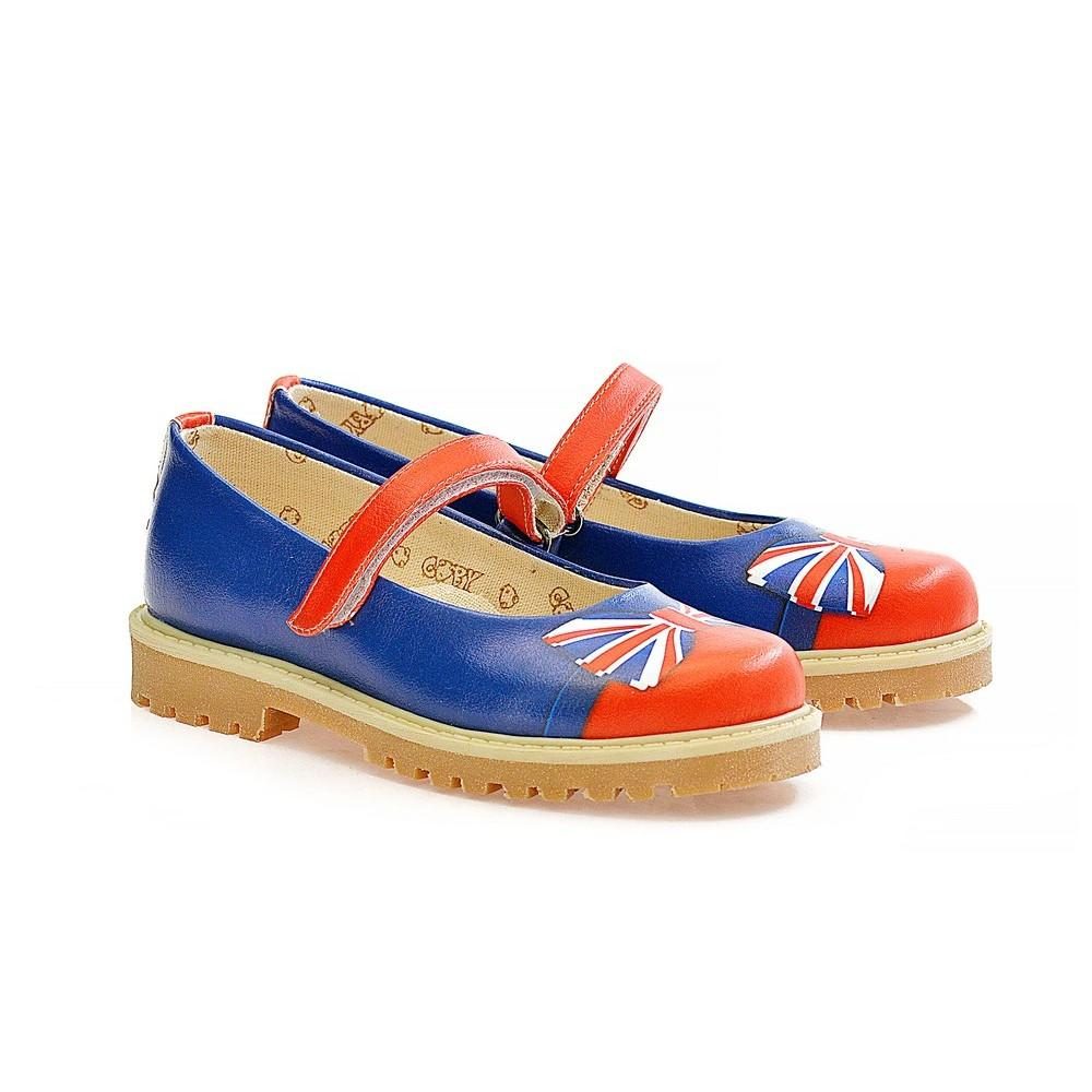 Flag Ribbon Ballerinas Shoes WCOC1602