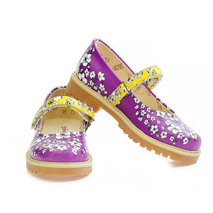 Flowers Ballerinas Shoes WCOC1603