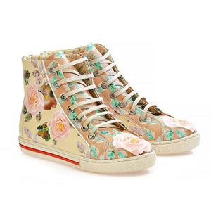 Flowers Sneaker Boots WCOC2301