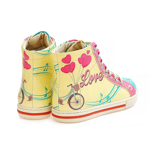 Love Sneaker Boots WCOC2302