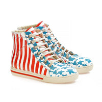 Stars Sneaker Boots WCOC2304 (1405819551840)